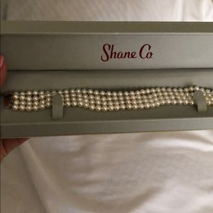 Shane Co pearl bracelet. Use once only for wedding